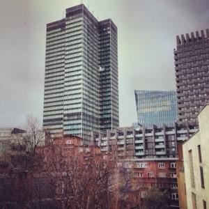 Bruin abroad: Urban tales in London town